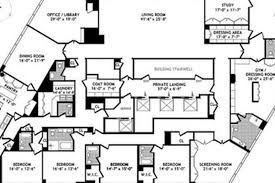 big floor plan floorplan time warner penthouse is a very big deal curbed ny