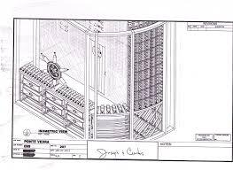 wine cellar floor plans ponte vedra wine cellar project by curtis dahl blog your wine
