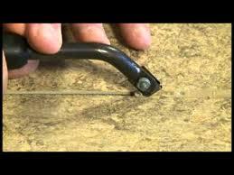 heat welding linoleum