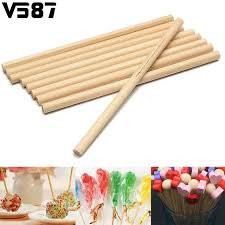 where can i buy lollipop sticks aliexpress buy 100pcs wooden lollipop sticks lolly stick for