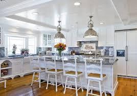 Beach Cottage Kitchen by Beach House California Dreamin In Ocean Blue U0026 White