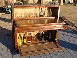 Diy Mini Bar Cabinet with Diy Ideas From Allhome Old Piano Turned Into Mini Bar Allhome