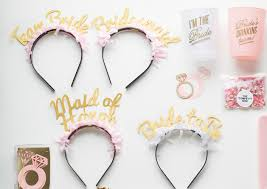 gold headbands party up top headbands bridal pack shop of wow
