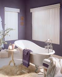 bathrooms eclectic purple bathroom with oval bathtub and purple