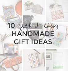 10 quick u0026 easy handmade gift ideas radiant home studio