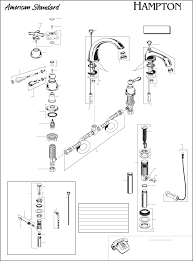100 american standard hampton kitchen faucet kitchen