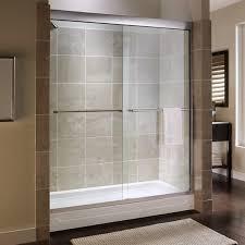 60 Shower Doors American Standard Custom Tuscany 71 25 X 60 Bypass Frameless