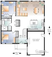 split level home floor plans house plan w3281 detail from drummondhouseplans com