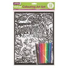 wholesale velvet art sets felt tips discount wholesale