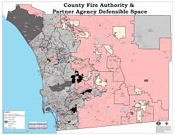 San Diego Zoning Map by Defensible Space