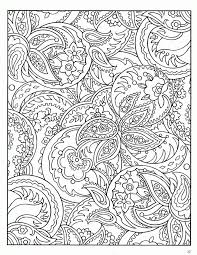 free printable paisley coloring pages adults kids coloring