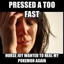 Joy Meme - nurse joy meme shared by crossingkuroyu on we heart it