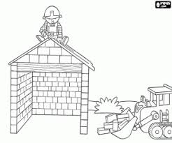 bob the builder coloring pages printable games