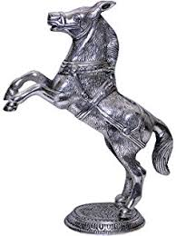 buy vastu feng shui golden horse statue with stand for victory