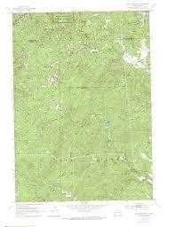 Bear Creek Trail Map Hiking In The Black Elk Wilderness Of South Dakota