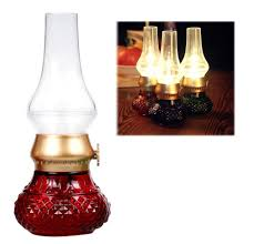 2017 retro blowing controlled kerosene lamp rechargeable usb led