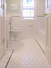beautiful white ceramic subway tile bathroom with stunning white