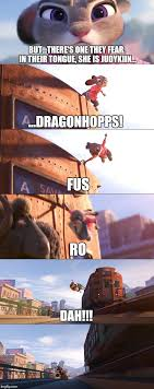 Fus Ro Dah Meme - fus ro dah zootopia imgflip
