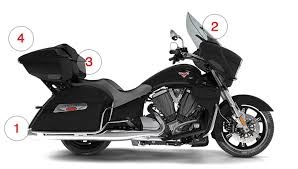 2017 victory cross country tour motorcycle black