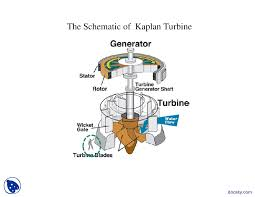 the schematic of kaplan turbine turbomecines lecture slides docsity