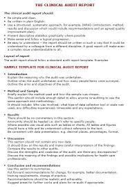 gmp audit report template sle audit report template 14 audit report templates