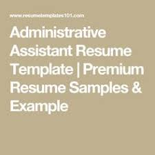 Sample Administrative Assistant Resume Administrative Coordinator Cover Letter Examples Administration