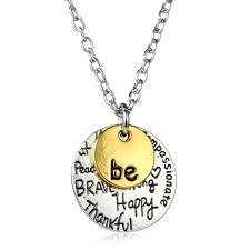 custom necklace pendant 61 customized necklace pendant personalized birthstone heart