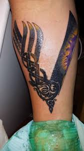 my first minnesota vikings themed eric chapman danbury tattoo