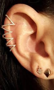 ear climber earring 39 best ear climber earrings images on ear cuffs