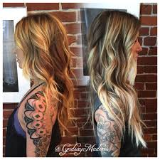 Hair Extensions In Costa Mesa by Added Dramatic Length And Light To This Gorgeous Balayage Ombré
