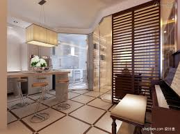 modern kitchen living room partition whole renovation renderings modern kitchen modern