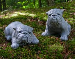 bulldog memorial etsy