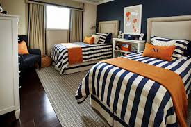 blue and orange room absolutely gorgeous traditional kids teenager boys bedroom