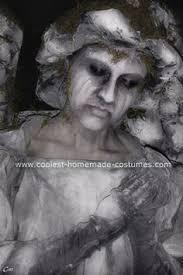 Halloween Statue Costume Turn 19 Jazz Dancers Wind Dolls Competition