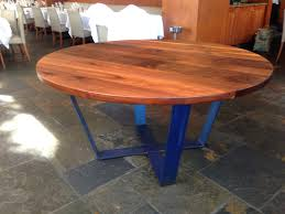 wood and metal round dining table round dining table base saarinen only metal modern wood bases