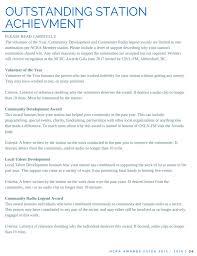 2017 guidelines u2013 ncra community radio awards