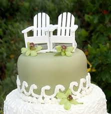 chair cake topper adirondak chair wedding cake toppers the wedding specialiststhe