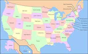 Us Regions Map Usa Map With Capitals And Abbreviations Usa Map With Capitals And