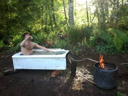 Wood Fired Bathtub Building A Backcountry Tub Teton Gravity Research