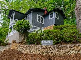 Lake Lure Cottage Kitchen - lake lure cottage on the hill 2 bedroom 1 bath walk to