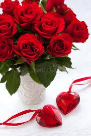 roses and hearts roses and hearts stock image image of bunch bloom 17041499