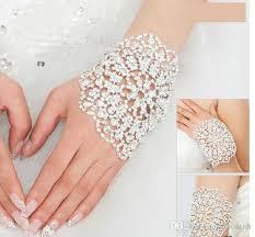 prom accessories fashion luxury bridal bracelet wedding jewelry wrist chain bangles