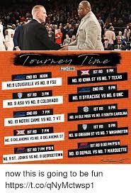 Syracuse Memes - foxcbb xi ist rd 9 pm no 10 iowa st vs no 7 texas 2nd rd no 11