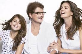 why did penney cut her hair cindy crawford lets daughter model for jc penney despite banning