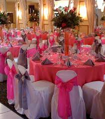 Decorating Chair For Baby Shower How To Decorate A Banquet Hall For A Baby Shower Halls Pink Round