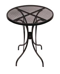 Metal Mesh Patio Furniture - outside steel table tops