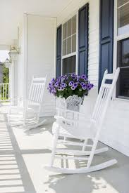 White Slat Rocking Chair by Furniture Impressive White Porch Rocking Chairs Rock Solid