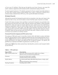 example of construction resume appendix a example health safety and security plan improving page 102