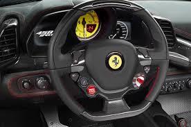Ferrari 458 Interior - watch the ferrari 458 speciale tear up race track autotribute
