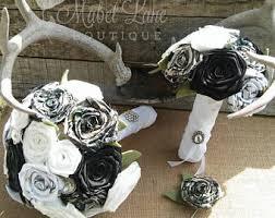 camo flowers camo wedding bouquet etsy